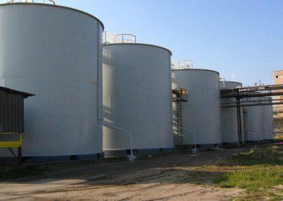 GZNF - zbiorniki kwasu siaskowego