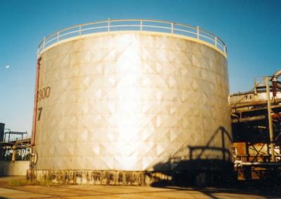 Siarkopol - zbiornik oleju napędowego